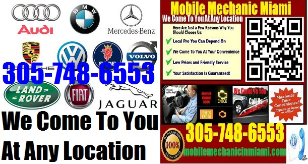 European German Onsite Miami Foreign Import Auto Repair Tech Service