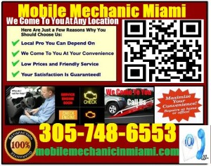 Mobile Mechanic Hialeah Florida auto car repair service