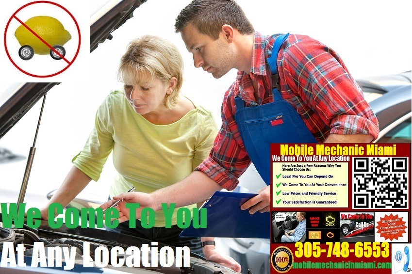 Pre Purchase Car Inspection Miami Mobile Auto Mechanic Vehicle Service
